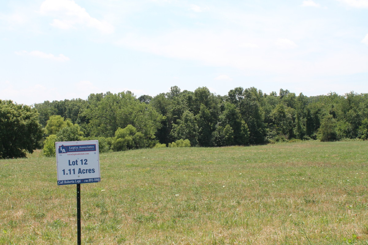 Millstone Meadows Residential Building Lot Zanesville Ohio Lot 12