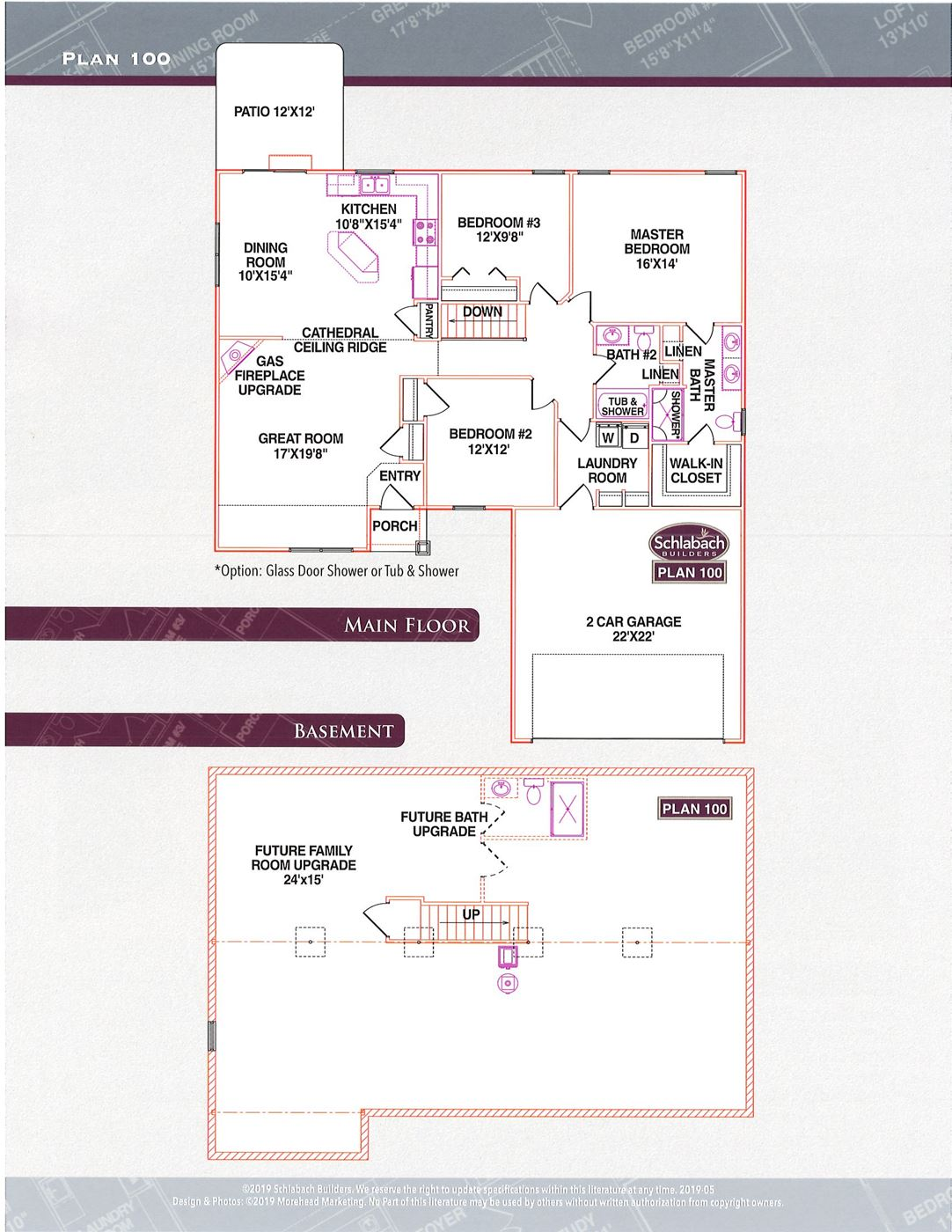 Schlabach Builders Lepi Real Estate Plan 100 2