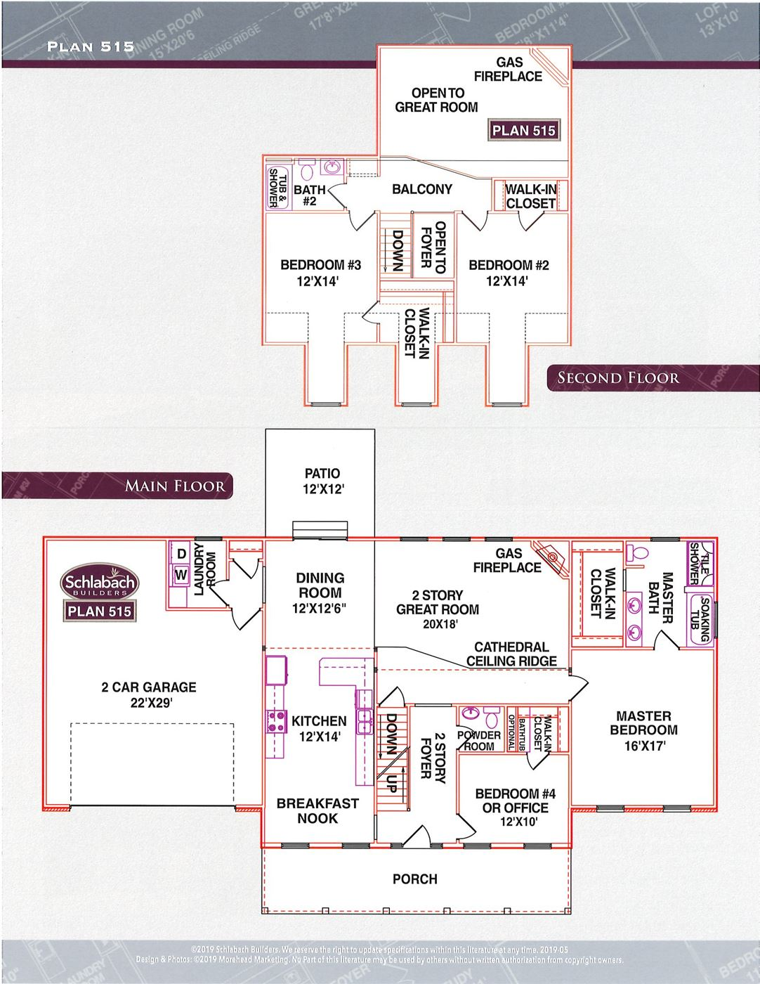 Schlabach Builders Lepi Real Estate Plan 515 2